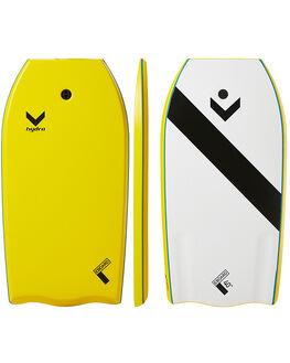 YELLOW SURF BODYBOARDS HYDRO BOARDS - CB17-HYD-040YEL