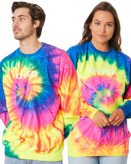 MULTI MENS CLOTHING DYED JUMPERS - DY8100SPTIDYE
