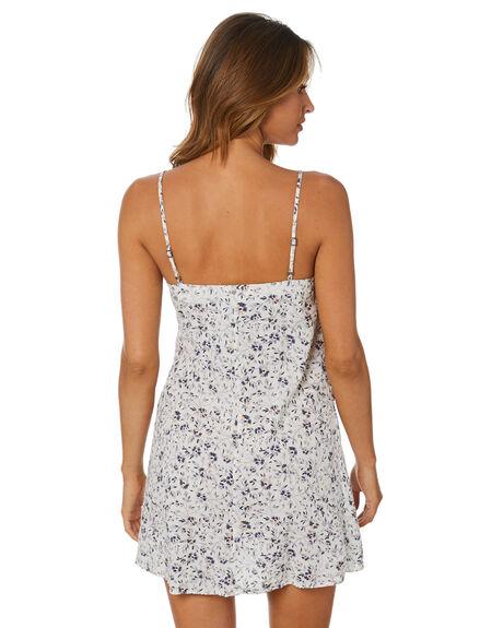 STEEL BLUE WOMENS CLOTHING RUSTY DRESSES - DRL1071SEL