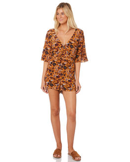 MUSTARD WOMENS CLOTHING TIGERLILY PLAYSUITS + OVERALLS - T383430MUST
