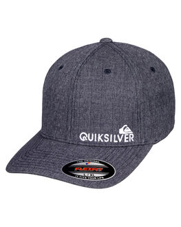 NAVY BLAZER HEATHER MENS ACCESSORIES QUIKSILVER HEADWEAR - AQYHA04121BYJH