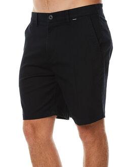 BLACK MENS CLOTHING HURLEY SHORTS - AMWSOOC200A