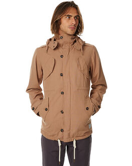 COFFEE MENS CLOTHING ACADEMY BRAND JACKETS - 17W201COFF