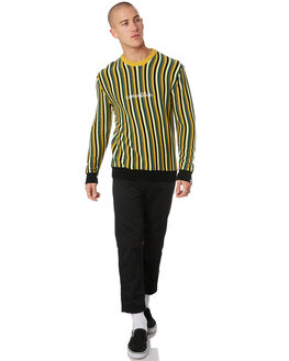 OLIVE MENS CLOTHING THE CRITICAL SLIDE SOCIETY KNITS + CARDIGANS - KT1838OLV