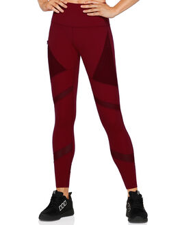 DARK RED WOMENS CLOTHING LORNA JANE ACTIVEWEAR - W081932DKRED