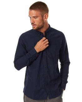 NAVY MENS CLOTHING KATIN SHIRTS - WVCLYF16NVY