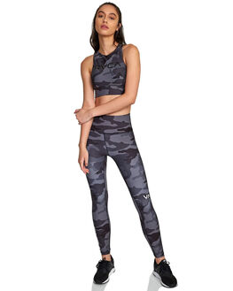 CAMO WOMENS CLOTHING RVCA ACTIVEWEAR - RV-R407871-CMO