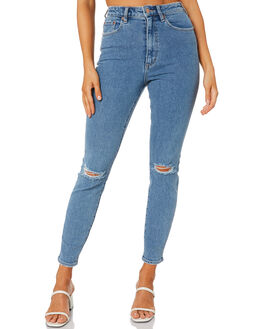 WORN BEAUTY WOMENS CLOTHING LEE JEANS - L-656785-NM7