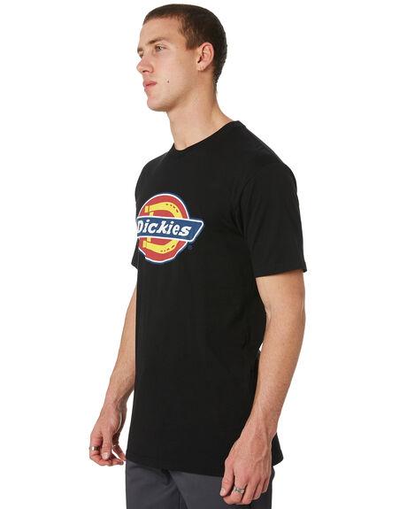 BLACK MENS CLOTHING DICKIES TEES - K3170140BK