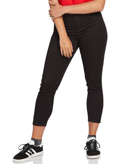 BLACK OUT WOMENS CLOTHING VOLCOM JEANS - CB1911805BKO