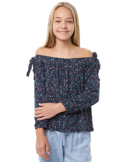 STARGAZER PRINT KIDS GIRLS EVES SISTER FASHION TOPS - 9910019PRNT