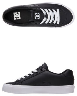 BLACK WOMENS FOOTWEAR DC SHOES SNEAKERS - ADJS300231-BL0