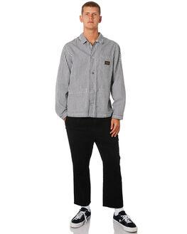 STRIPE MENS CLOTHING STUSSY JACKETS - ST091502STP