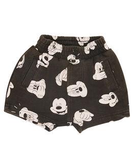 CHARCOAL WASH KIDS BABY ROCK YOUR BABY CLOTHING - BBP1822-MVCHARW