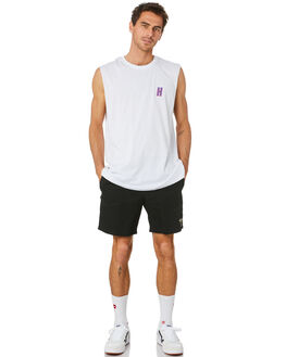 WHITE MENS CLOTHING HUFFER SINGLETS - MTA94J2231101WHT
