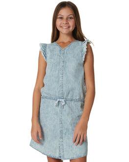 ACID BLUE KIDS GIRLS MUNSTER KIDS DRESSES - MM181DR13BLU