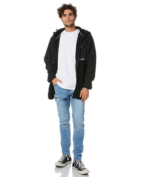 BLACK MENS CLOTHING TOWN AND COUNTRY JACKETS - TJK610ABLK