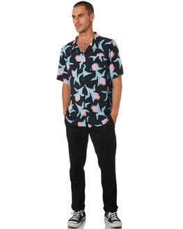 BLUE MENS CLOTHING THE LOBSTER SHANTY SHIRTS - LBSLAGUNA-BLU