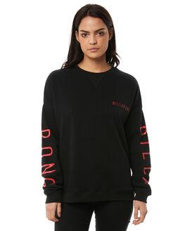 BLACK WOMENS CLOTHING BILLABONG JUMPERS - 6585746BLK