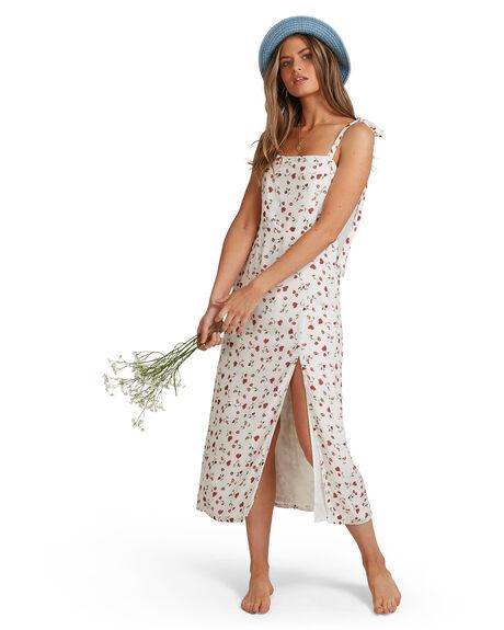 WHITE WOMENS CLOTHING BILLABONG DRESSES - BB-6504505-WHT