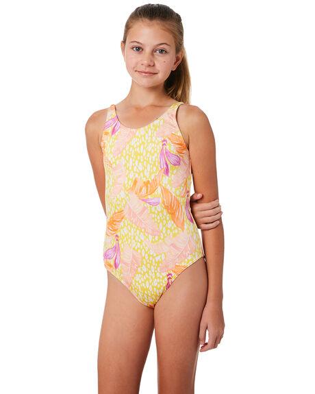 d04bccd4f1 Billabong Kids Girls Love Palm One Piece - Mimosa | SurfStitch
