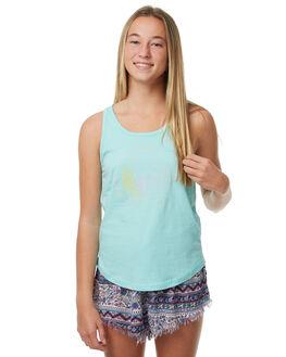 BLUE ICE KIDS GIRLS RIP CURL SINGLETS - JTECK15294