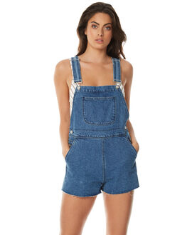 INDIGO WOMENS CLOTHING ZULU AND ZEPHYR PLAYSUITS + OVERALLS - ZZ1564IND