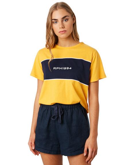 CITRUS WOMENS CLOTHING RPM TEES - 9PWT05A1CITR