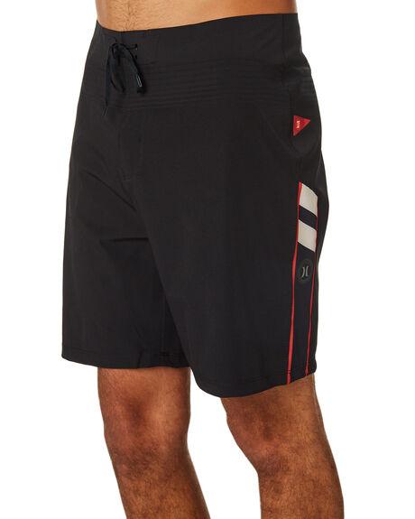 BLACK MENS CLOTHING HURLEY BOARDSHORTS - BQ4720010