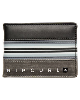 BLACK MENS ACCESSORIES RIP CURL WALLETS - BWUIO10090