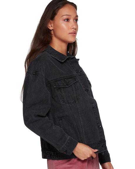 VINTAGE BLACK WOMENS CLOTHING RVCA JACKETS - R293431VBLK