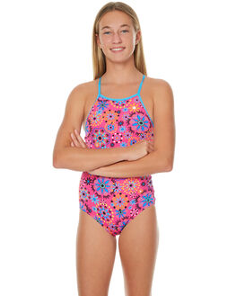 PINK MULTI KIDS GIRLS ZOGGS SWIMWEAR - 5106180PNKML