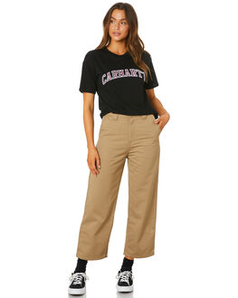 BLACK WOMENS CLOTHING CARHARTT TEES - I0271738900
