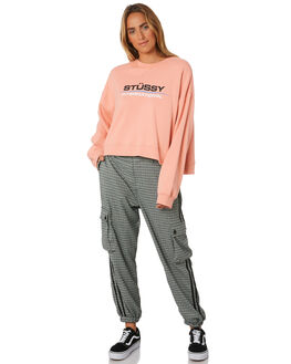 MELON WOMENS CLOTHING STUSSY JUMPERS - ST196321MEL