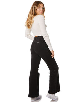 ROLLAS BLACK CORD WOMENS CLOTHING ROLLAS JEANS - 13005-4549