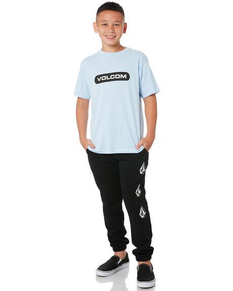 BLACK KIDS BOYS VOLCOM PANTS - C1212002BLK