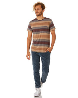 WALNUT MENS CLOTHING KATIN TEES - KNSUN02WLNT