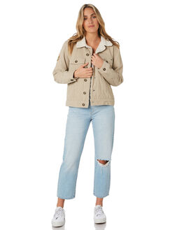 TAUPE WOMENS CLOTHING O'NEILL JACKETS - 5921508TAU