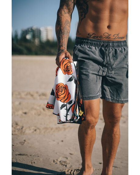 RED OUTDOOR BEACH DRITIMES TOWELS - DT009