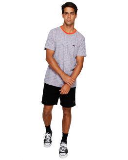 DUSTY ROSE MENS CLOTHING RVCA TEES - RV-R191065-DU4