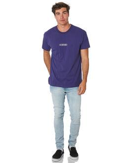 DARK PURPLE MENS CLOTHING BILLABONG TEES - 9596030BDPURP