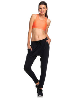 TRUE BLACK WOMENS CLOTHING ROXY ACTIVEWEAR - ERJNP03254-KVJ0