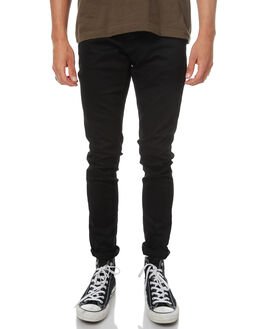 DEEP BLACK MENS CLOTHING NUDIE JEANS CO JEANS - 112451DEPBK