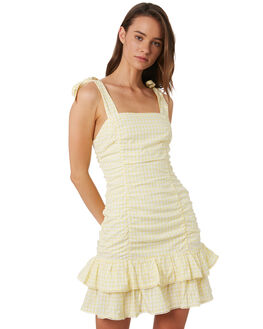 LEMON OUTLET WOMENS TIGERLILY DRESSES - T392435LEM