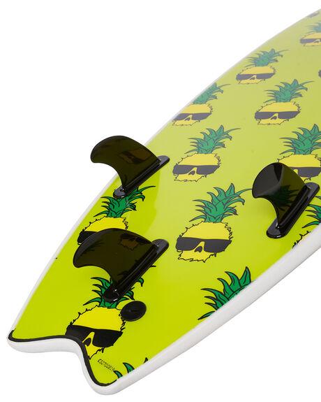 WHITE BOARDSPORTS SURF CATCH SURF SOFTBOARDS - WB66-BGWHT