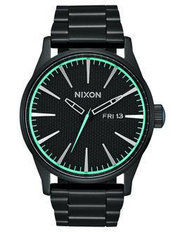 ALL BLACK BLUE MENS ACCESSORIES NIXON WATCHES - A356602