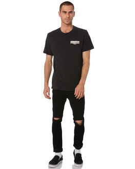 WORN BLACK MENS CLOTHING WRANGLER TEES - W-901792-082