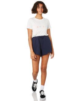 WHITE WOMENS CLOTHING COOLS CLUB TEES - 102-CW1WHT