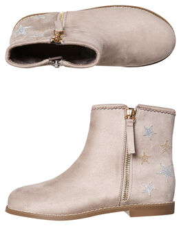GREY KIDS GIRLS ROC BOOTS AUSTRALIA BOOTS - JDRYW182AGREY