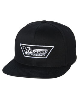 BLACK MENS ACCESSORIES VOLCOM HEADWEAR - D5511626VBK